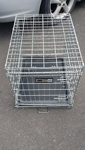 Cage a chien ou chat - dog or cat crate - STEEL METAL SOLIDE