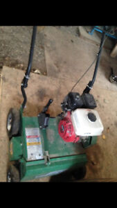 Billygoat power rake/ dethatcher