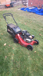 "Exmark 21"" commercial lawn mower"