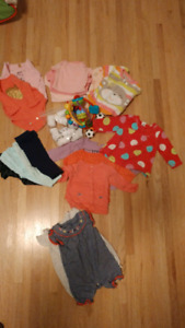 Baby girl 0-3 months 20 items