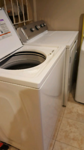 Washer and Dryer. Less than 3 years old I have receipts.