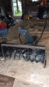 snowblower for lawn tractor
