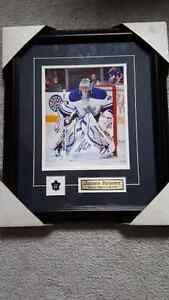 Toronto Maple Leafs James Reimer signed photo and frame $100