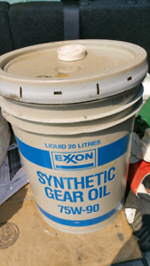 20 litres of synthetic gear oil