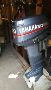 25 hp Yamaha Outboard ( oil injected )
