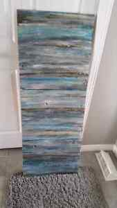 Local original abstract art - just painted!