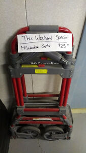 Milwaukee Folding Cart/Dolly -   ONLY $25