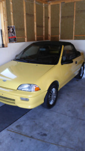 Two (2) 1991 Chevy Sprint Convertibles forsale