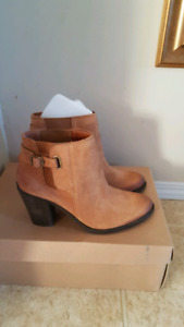 Brand new Lucky Brand real suede boots