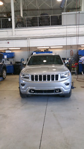 2015 Jeep Grand Cherokee Overland SUV - Fully Loaded