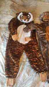 Tiger and monkey costumes