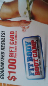 Fit Body $100 Gift Card