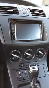 Mazda 3 - Kenwood DDX Double DIN - Installed
