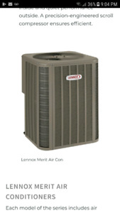 1 year old Central Air unit