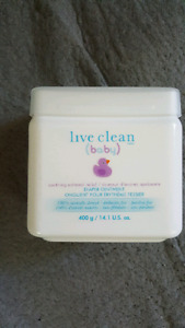 Live clean diaper cream 400g (new)