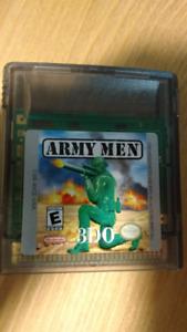 Gameboy Color Army Men game
