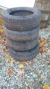 4 Michelin 175/65r14 Winter Tires Kitchener / Waterloo Kitchener Area image 1