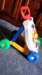 Fisher Price sit to stand learning walker Kitchener / Waterloo Kitchener Area image 1