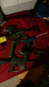 Selling paint bull and paint ball stuff