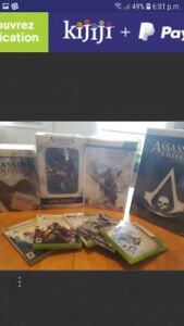 Jeux Xbox  assassin creed