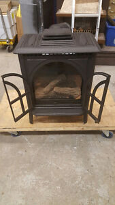 Freestanding Natural Gas Fireplace
