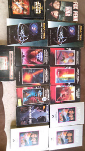15 VHS tapes  mostly Star Trek