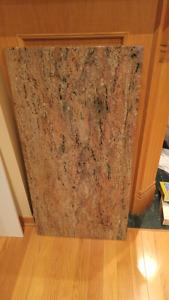Plaques de granit