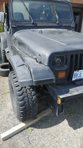 Wrangler parting out