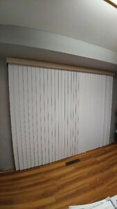 Large vertical blinds