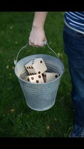 Yard-zee (lawn Yahtzee), great outdoor family game