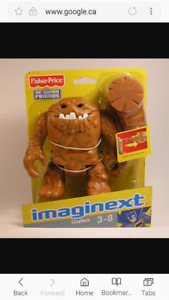 Imaginext Clay Face Toy