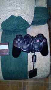 Ps2 controller and memory card