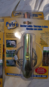 Pylex 30-inch Ground Anchors and Driving Rod