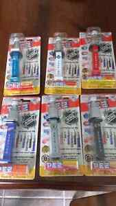 Lot de 6 pez nhl scellé
