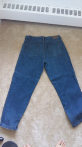 Bc clothing 36w x 32L lined jeans men