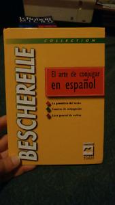 Bescherelle espagnol + dictionnaire espagnol francais