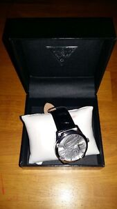 2 NEW Guess Womens Watches Black & Silver, White & Gold $140 ea