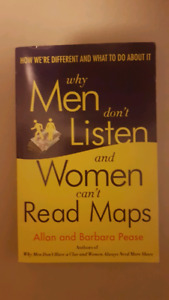 Why Men don't listen and Women can't read road maps