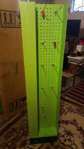 Free standing rotating acrylic display stand
