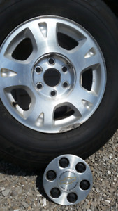 Chevy Truck Tire and Rim