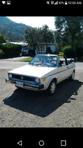 1986 Volkswagen Convirtable
