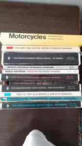 variety of mc service manuals