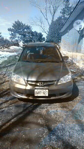 2005 HONDA CIVIC  3200 CERTIFIED
