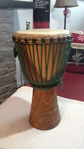 Djembe drum for sale, used for 3 months of lessons only