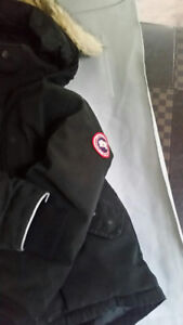 Canada Goose gently used boys coat