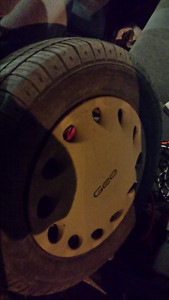R12 Tires with rims