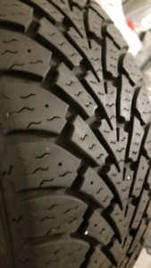 4 Goodyear winter tires 205/55 R16