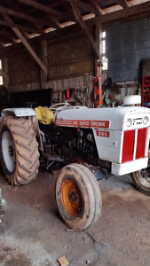 Great working tractor
