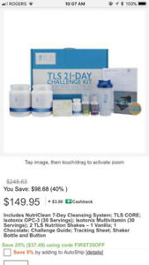 Total Weight Loss Solutions TLS 21 Day Challenge Kit Fat Loss