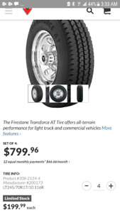 ****LIKE NEW****FIRESTONE TRANSFORCE  AT